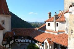Château de son, maison de Dracula, Brasov, la Transylvanie images libres de droits