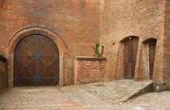 Château de Spilberk dans la ville Brno Images libres de droits