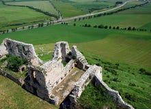 Château de Spis (hrad de Spissky), Slovaquie Images libres de droits