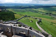 Château de Spis (hrad de Spissky), Slovaquie Photo stock