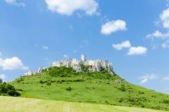 Château de Spissky Photo libre de droits
