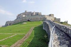 Château de Spissky Hrad Photographie stock libre de droits