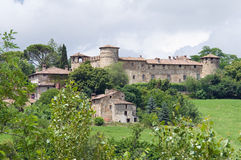 Château de Statto. Travo.Emilia-Romagna. l'Italie. Photographie stock