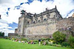 Château de Stirling en Ecosse Images libres de droits