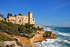 Château de Tamarit Photos libres de droits