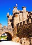 Château de Templar, construit au 12ème siècle Photographie stock libre de droits