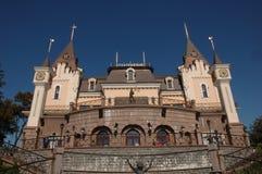 Château de théâtre de marionnette Photographie stock libre de droits