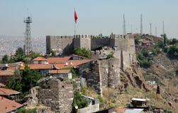 Château de Tha d'Ankara. Photographie stock