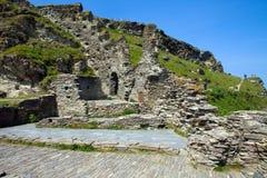 Château de Tintagel Image libre de droits
