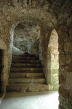 Château de Tolquhon Photos stock