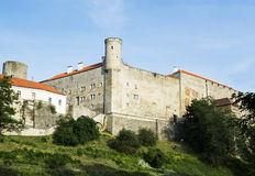 Château de Toompea - la résidence des aînés d'état Images stock