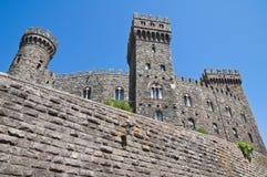 Château de Torre Alfina. Le Latium. l'Italie. photo libre de droits