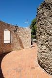 Château de Tortosa Photo stock
