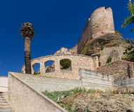 Château de Tortosa Photo libre de droits