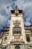 Château de tour de Peles, Sinaia, Roumanie Photo stock