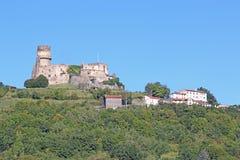 Château de Tournoël, france Stock Photos