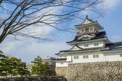 Château de Toyama dans la ville de Toyama Photographie stock