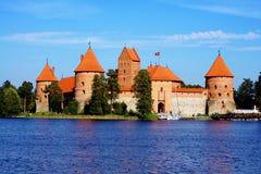 Château de Trakai Photos libres de droits