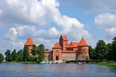 Château de Trakai Photo stock