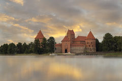 Château de Trakai Photo stock