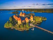 Château de Trakai Images stock