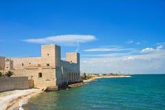 Château de trani La Puglia l'Italie Images stock