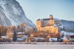 Château de Trautenfels près de Stainach Irdning dans Ennstal Photo stock