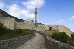 Château de Travnik Photographie stock libre de droits