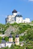 Château de Trencin image libre de droits
