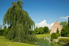 Château de Trolle-Ljungby, Suède Photographie stock libre de droits