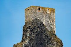 Château de Trosky photos libres de droits
