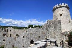 Château de Trsat photographie stock libre de droits