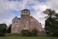 Château de Turku, Finnland Photo stock