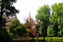 Château de Vadjahunyad Photos libres de droits