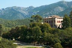 Château de Vauvenargues, castelo de Pablo Picasso imagens de stock