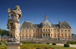 Château DE Vaux-le-Vicomte, Frankrijk royalty-vrije stock fotografie