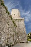 Château de Venus chez Erice, Sicile Image stock