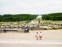 Château De Versailles de jardin Photographie stock