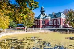 Château de village de Kokorin, vallée de Kokorin, Bohême centrale, Tchèque r photos libres de droits