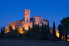 Château de Villalta, Fagagna Photos libres de droits
