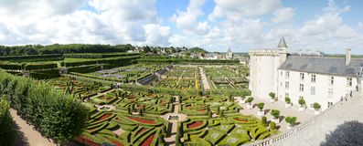The Château de Villandry. The Château de Villandry is a castle-palace located in Villandry, in the département of Indre-et-Loire, France Royalty Free Stock Photography
