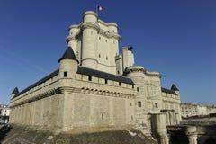 Château de Vincennes perto de Paris, França. imagem de stock