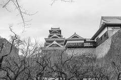 Château de vintage du Japon photos stock