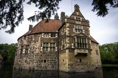 Château de Vischering de Burg en Allemagne Photographie stock
