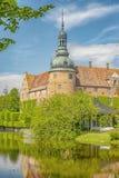 Château de Vittskovle dans Skane Image stock