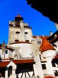 Château de Vlad Tepes, son, Roumanie image libre de droits