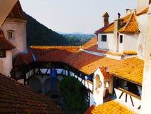 Château de Vlad Tepes, son, Roumanie photo libre de droits