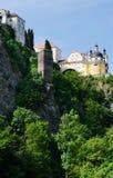 Château de Vranov NAD Dyji, République Tchèque Photographie stock libre de droits