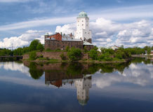 Château de Vyborg Photo stock