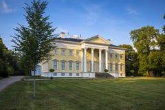 Château de Wörlitz dans le jardin de Dessau-Wörlitz, Allemagne Images libres de droits